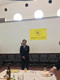 (新入会員の服部様)