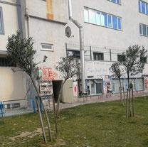 Textilfabrik in Park in Istanbul