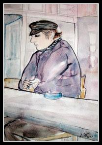 Le Breton, aquarelle.D.Petit