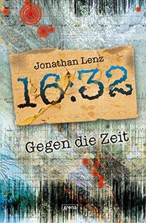 16:32 Gegen die Zeit Jonathan Lenz Buchcover Jugendbücher ab 16