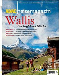 ADAC Reisemagazin Wallis Reiseführer Zermatt