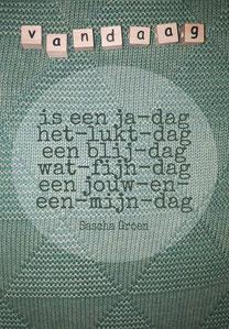 Gedicht Vandaag - Weduwe in Opleiding - Sascha Groen