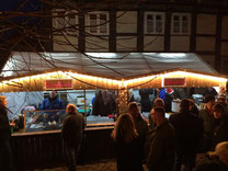 Bilder vom Hornburger Weihnachtsmarkt