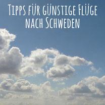 Blogpost: Tipps für günstige Flüge nach Schweden auf schwedenundso.de