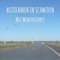 Blogpost: Autofahren in Schweden mit Wintertipps! auf schwedenunso.de