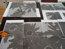Impression A4 noir et blanc et assemblage