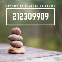 Heilzahl und Zahlencode zur finanziellen Stabilisierung nach Grigori Grabovoi