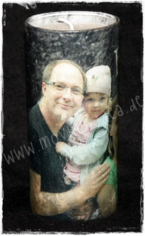 Foto mit Kindern und Enkelkindern für die Großeltern zu Weihnachten