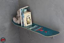 étagère murale skate