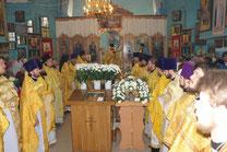 4 марта 2013 г. Соборное Богослужение в  с. Займо-Обрыв
