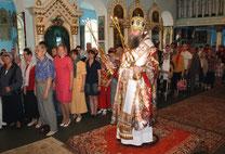 Митрополит Меркурий в Покровском храме 06.05.2013 г.