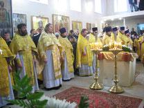 07.02.2013 г. Соборное Богослужение духовенства Азовского благочиния