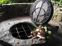 聖杯が投げ込まれたという伝説の泉