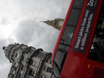 ロンドンバスとビッグベン