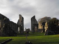 グラストンベリー修道院の廃墟