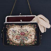 shabby vintage handtasche