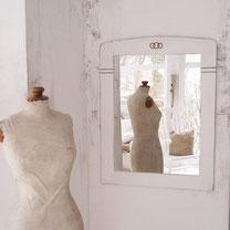 vintage shabby spiegel krakeliert