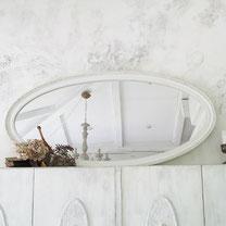 shabby vintage rahmen spiegel jugendstil