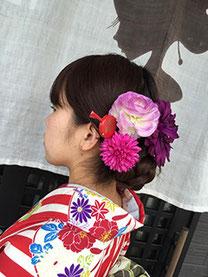 かんたんへアセットと髪飾り一例