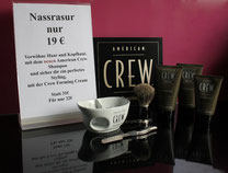 Rasur rasieren lassen Rosenheim Rasierpinsel