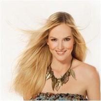 Haarverlängerung Quikkies Model Angelique