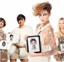 Haarverlängerung Quikkies mehrere Models