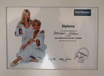 Bild: Diplom für Hairdreams Haarverlängerungen Rosenheim