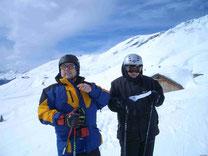 Ski fahren im Grindelwald