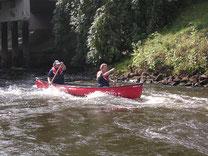 Mit dem Kanu auf der Hunte