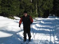 Auf Ski unterwegs im Harz
