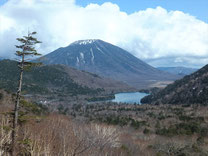 Mt. Nantai and Lake Yuno-ko