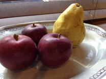 紅玉と洋梨