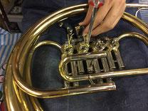 管楽器修理写真
