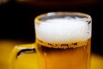 日本 北海道 札幌 居酒屋の生ビールアップ