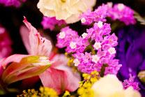 葬儀場の花