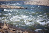 日本 北海道 札幌 川の流れ