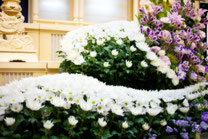 葬儀場のお花