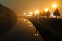 日本 北海道 小樽 Quiet canal