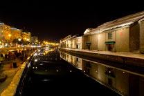 雪明りの道 小樽運河