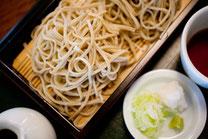 日本 ざる蕎麦のイメージ