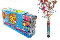 canons à confettis anniversaire