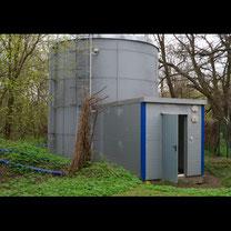 zbiornik ppoż instalacji tryskaczowej