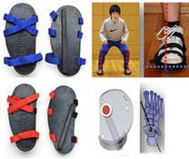 リアライン・バランスシューズでトレーニングすることで下肢の歪みを整えながら、正しい関節の位置を維持する筋肉の活動促してくれます。その効果はO脚やX脚、スポーツのパフォーマンスアップに。また下肢のアライメントが整うことによりむくみの改善や細くなったなどの効果も報告があります。地域では当院が初導入になります!