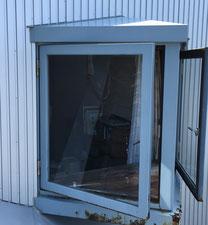 引き違い窓への変更 施工前