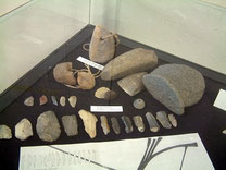 Original Steinzeit-Werkzeuge, Fundgebiet Solingen