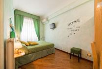 Camera verde B&B Rifugio di Roma