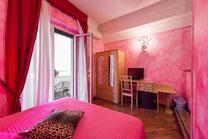 Camera rossa B&B Rifugio di Roma