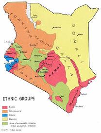 Kenya - Gruppi Etnici