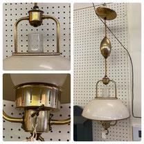 Vintage Pull-Down Light $65.00