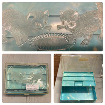 Hommes Sewing Box Kittens $18.00